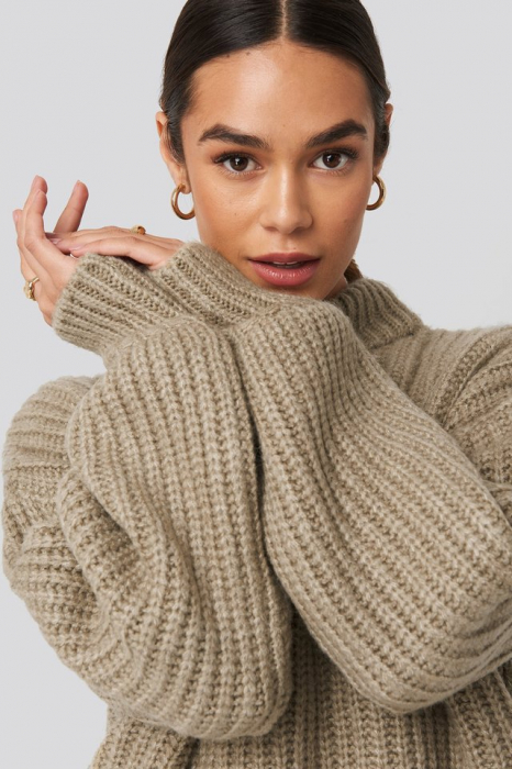 Pulover Round Neck Knitted [3]