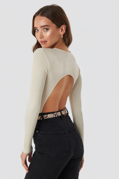 Open Back Bodysuit 1