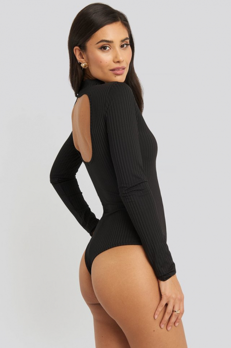 Open Back Ribbed Body 2