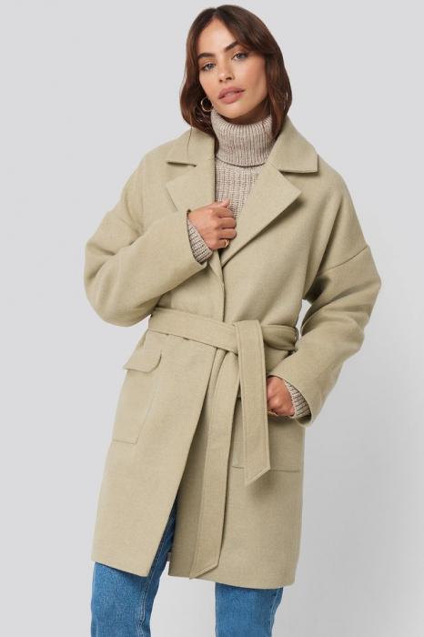 Oversized Midi Coat 1
