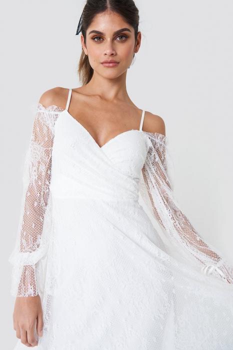 Rochie Asymmetric Lace Midi 1
