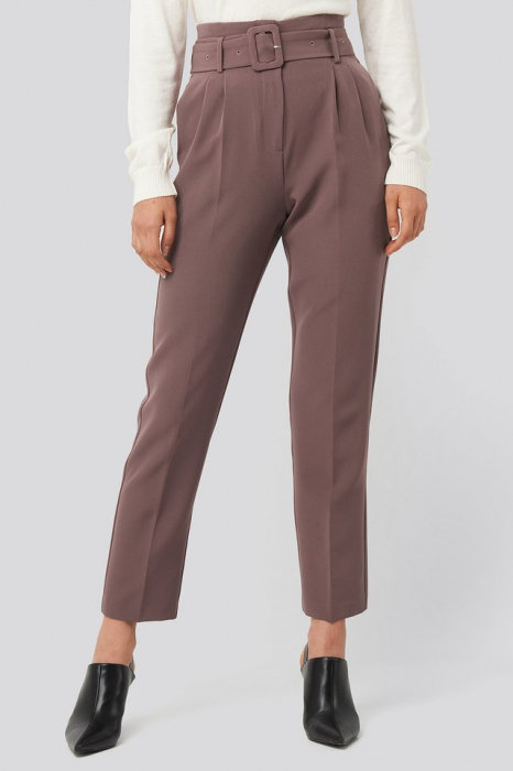 Pantaloni Belted Suit 1