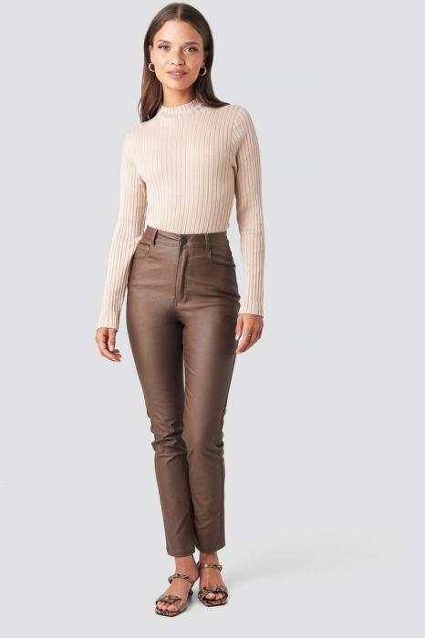 Pantaloni Coated Cotton [0]