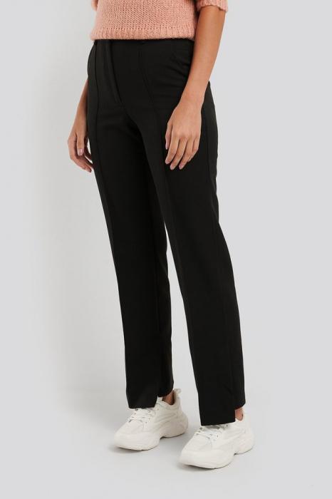 Pantaloni Creased Side Slit [3]