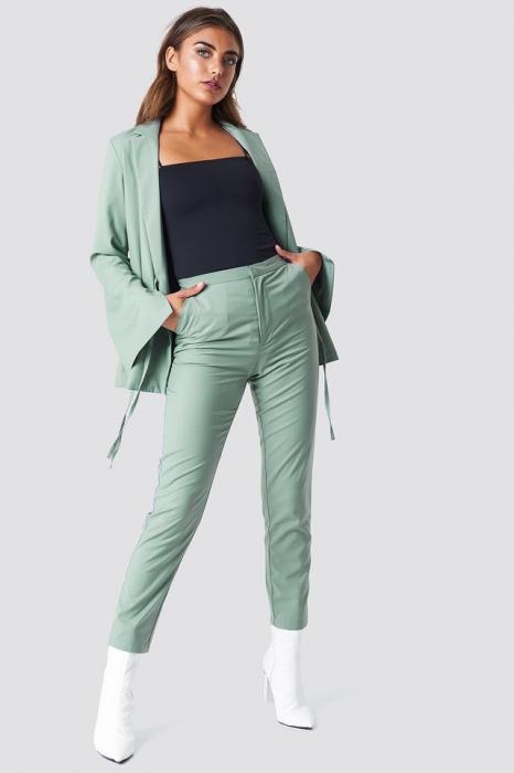 Pantaloni High Waist Suit [0]