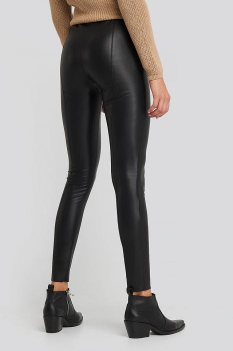 Pantaloni  Seam Detail PU 1