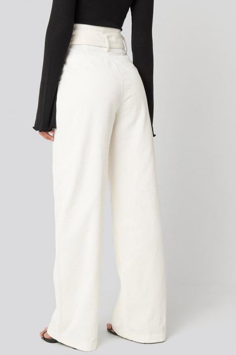Pantaloni Paper Waist Wide Leg [3]