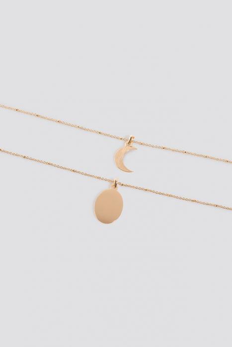 Colier Double Pendant Necklace 2