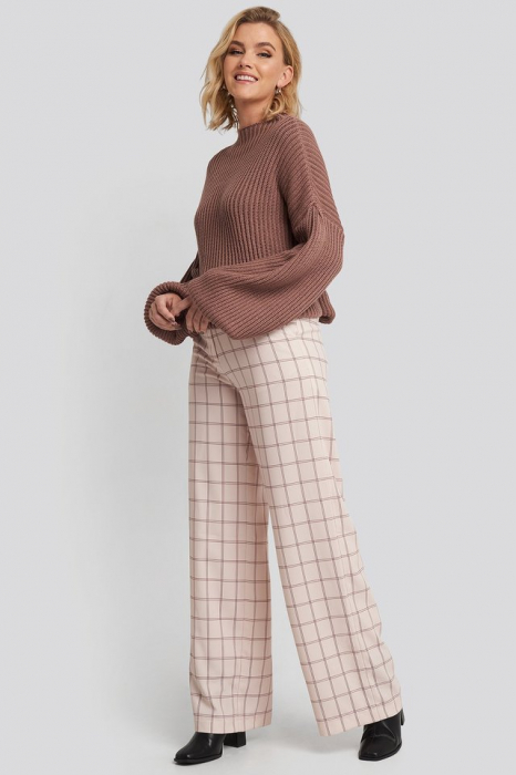 Pulover Balloon Sleeve Knitted [2]