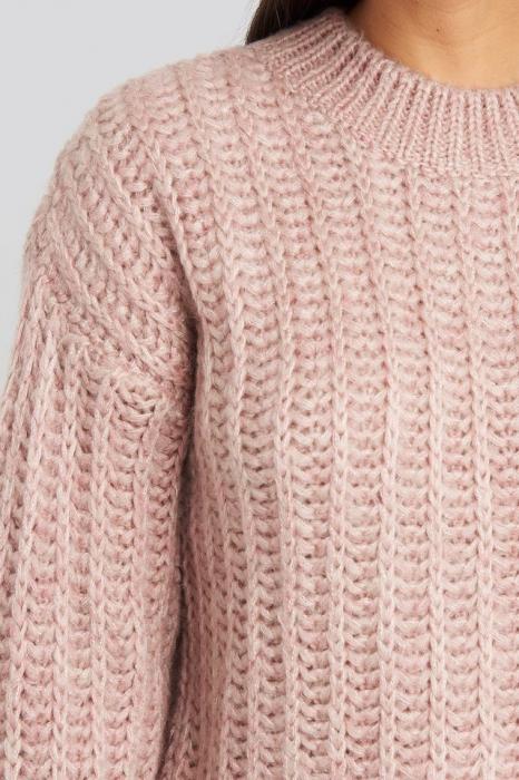 Pulover Round Neck Heavy Knit [1]