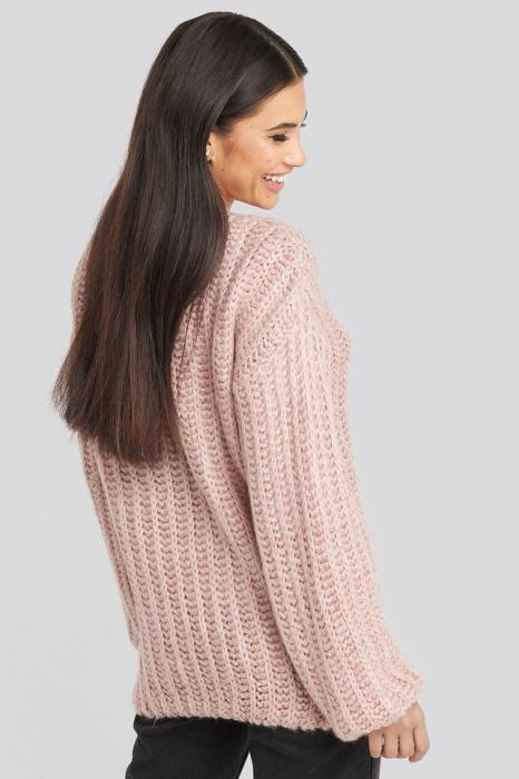 Pulover Round Neck Heavy Knit [2]
