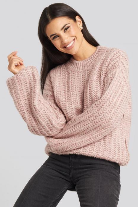 Pulover Round Neck Heavy Knit [0]