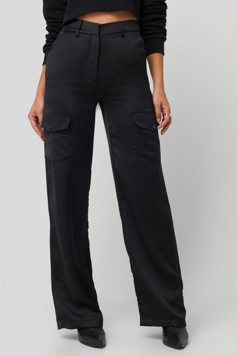 Pantaloni Satin Cargo 2