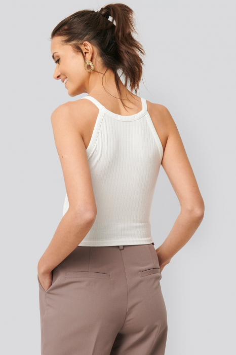 Top Ribbed Round Neck 1