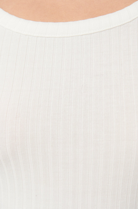 Top Ribbed Round Neck 2