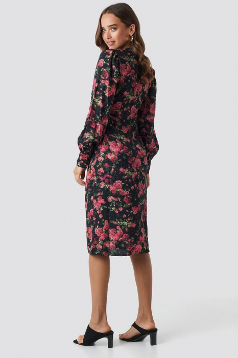 Rochie Buttoned Front V-Neck [1]