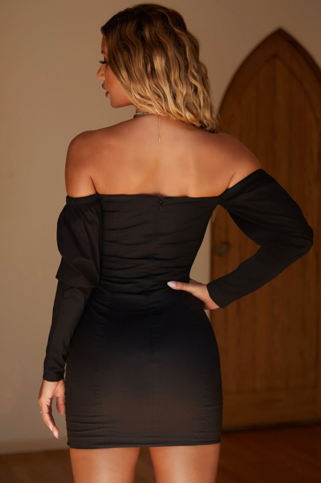 ROCHIE HOOKED ON YOU OFF THE SHOULDER PUFF SLEEVE UNDERWIRED [4]