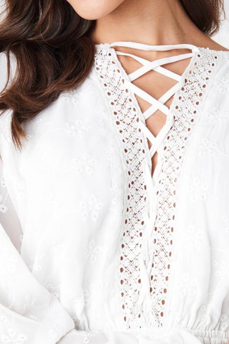 Rochie Lace Up Lace Ls 3