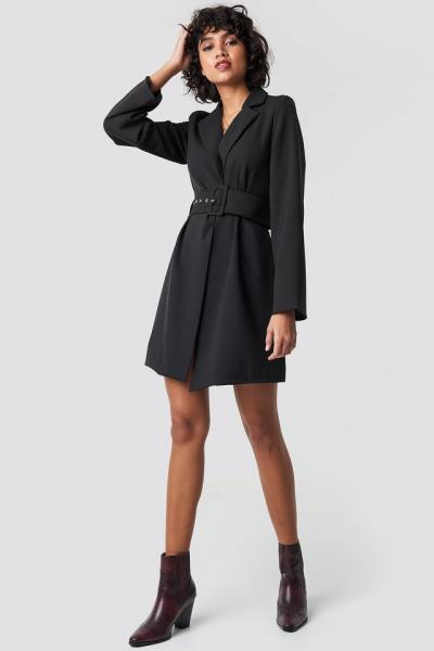 Rochie Wide Sleeve Belted Blazer [2]