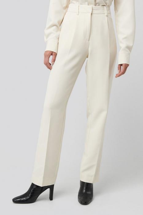 Pantaloni Creased Mid Rise Suit [2]