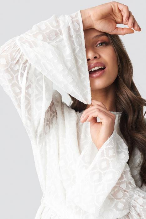 Rochie Bell Sleeve Flowy Mini 3