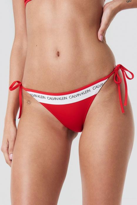 Slip De Baie Cheeky String Side Tie Bikini Panties [0]