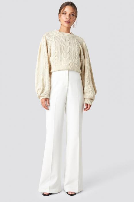 Pantaloni High Waist Bootcut 0