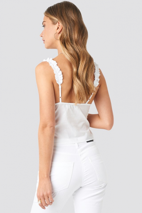 Top Gathered Front Cotton Singlet 1