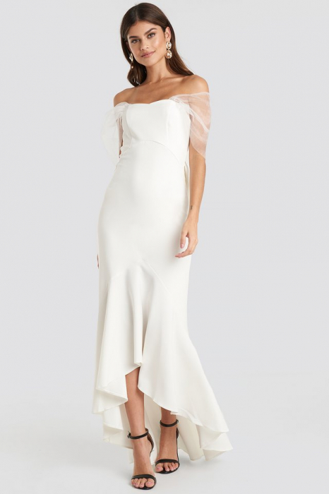 Rochie Bow Detailed Evening [0]