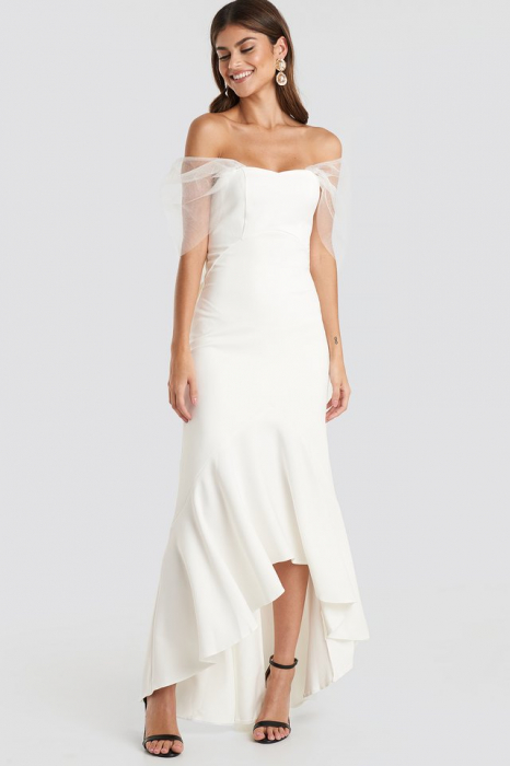Rochie Bow Detailed Evening [2]