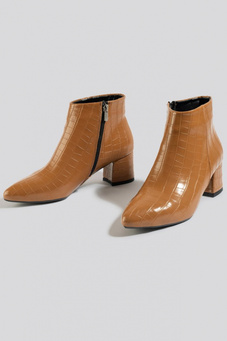 Botine  Croco Ankle [1]