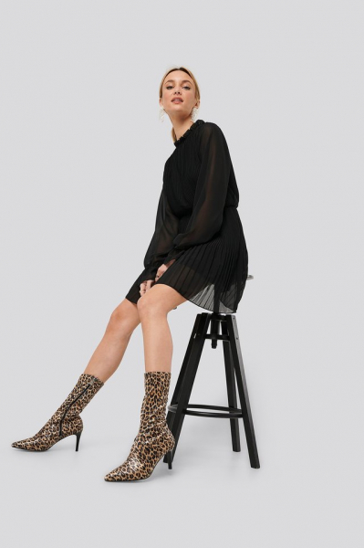 Botine Leopard Patterned Boots [2]