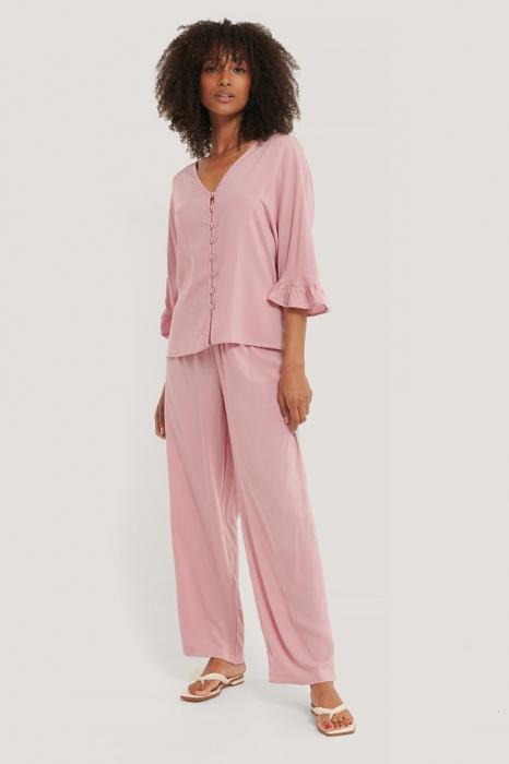 Pantaloni Ruffle Pijama [0]