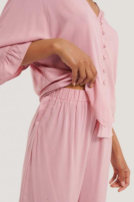 Pantaloni Ruffle Pijama [2]