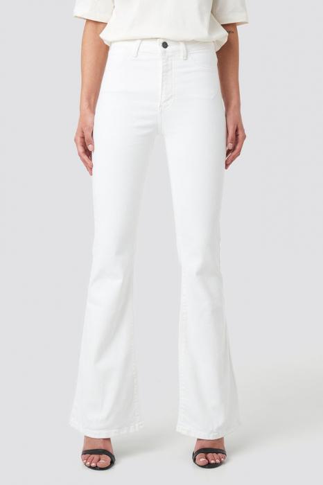 Blugi Wos High Waist Flare Jeans [1]