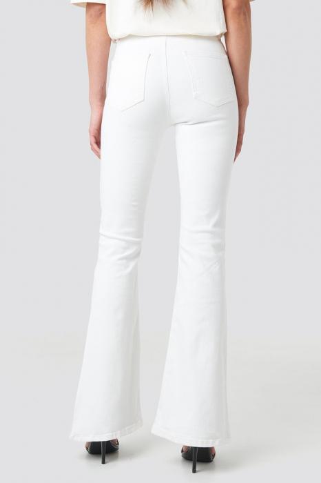 Blugi Wos High Waist Flare Jeans [2]