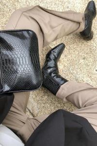 Botine Croco Basic Boots [4]