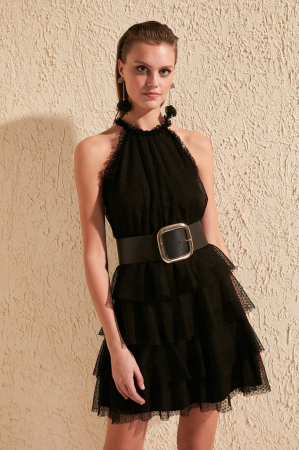 Rochie Dama Tulle Detailed [0]