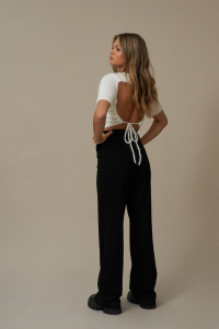 Pantaloni Flared Suit2