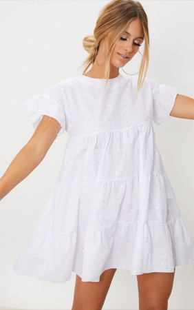 Rochie Broderie Anglaise Smock [1]