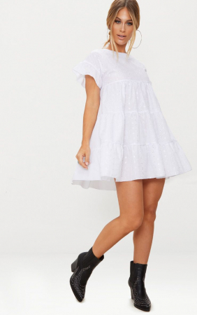 Rochie Broderie Anglaise Smock [0]