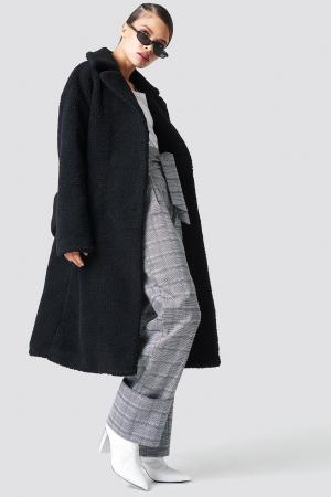 Haina Big Collar Teddy Coat1