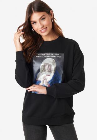 Bluza Weekend Oversized Sweatshirt0