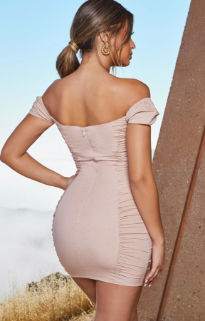 ROCHIE ALL TIES ON YOU PUFF SLEEVE UNDERWIRED MINI1