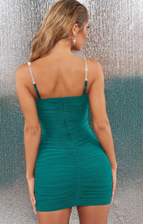 ROCHIE RISE AND SHINE EMBELLISHED BODYCON MINI1