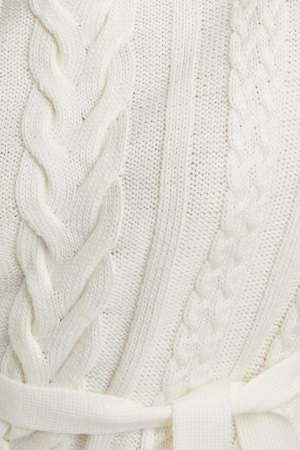 Pulover Cable Knit Detail Rochie [4]