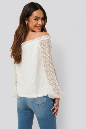 Bluza Off Shoulder Ruffle Blouse [1]