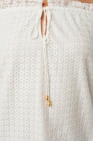 Bluza Off Shoulder Ruffle Blouse [4]