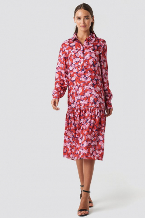 Rochie Ankle Length Printed0