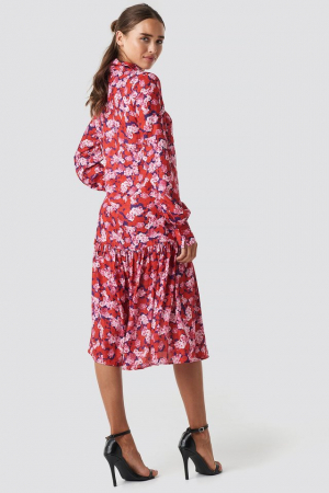Rochie Ankle Length Printed1